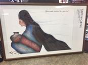 AMADO PENA Painting TRIBAL WESTERN IMPRESSIONS
